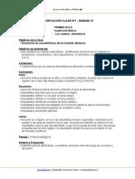 Planificación Cs. naturales