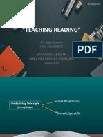 Ppt Teaching Reading