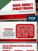 Gases, Humos y Vapores Tóxicos