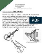 Guia Musica Tipos de Instrumentos