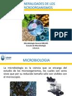 1. Generalidades de microorganismos