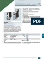 SIRIUS 3UG45, 3UG46 Monitoring Relays for Stand-Alone Installation
