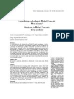 Metasintesisi La medicina en Foucault.pdf