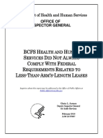 OIG findings of noncompliance by BCFS HEALTH AND HUMAN  SERVICES caring for UACs