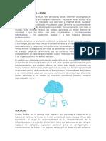 Computacion en La Nube y Dropbox