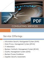 Consulting Services V1