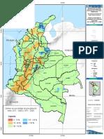 Cambio en El % de Precipitación Del Multimodelo Del Periodo 2011 a 2040 vs. 1971 a 2000
