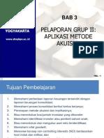 Bab 3 Aplikasi Metode Akuisisi 2019 Ppt
