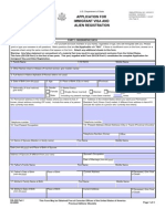 Immigrant Visa Application Form DS 230