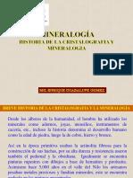 Historia minerologia