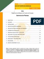 Procedimiento de Bloqueo Gerencia Planta SGI-R-GE-003