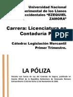 LA POLIZA DE SEGURO