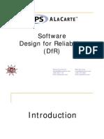 Software Design for Reliability - Presentation
