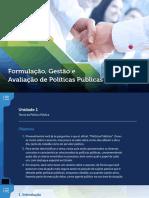4.Formulação, Gestão e Avaliação de Políticas Públicas (P)