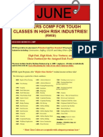 Workers Comp for Tough Classes in High Risk Industries June 2017
