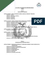Ley 260 ley organica del ministerio publico