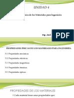 4.1 Propiedades Física de Los Materiales Para Ingeniería.
