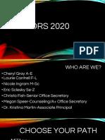 senior presentation 2019