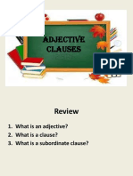 RPP 2 - Adjective Clause