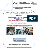 Identificación y presentación de una problemática real en el sistema de salud en México
