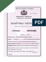 Acta de Constición y El Poder Del Representante Legal