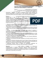 Contrato Privado Sobre Prestación de Servicios Profesionales