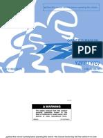 Yamaha YFZ R1 Owners Manual
