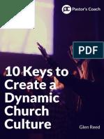 10 Keys Create Dynamic Church