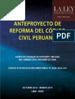 Anteproyecto de Reforma Al Código Civil Peruano Compressed