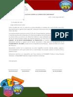 Carta de Requerimiento Municipalidad
