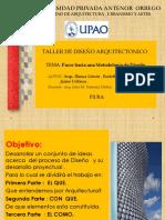 Pasos Hacia Una Metodologia de Diseño .Arquitectura.