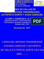 Foro Técnico Sobre La Troncal Caracas Del Sistema Transmilenio