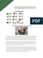 Nutrición La Nutrición Consiste en La Incorporación y La Transformación de Materia y En