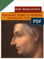 4. Maquiavelo, Discursos sobre la primera década de Tito Livio (1)(1).pdf