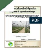 Proyecto Agro Hortalizas Ga s.p.r. de r.l.
