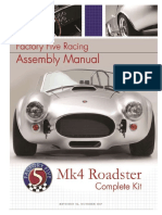 FF Shelby Cobra Assembly Manual