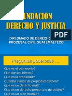 Diplomado en Derecho Procesal Civil Guatemalteco