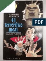 Carlos Puerto - El Vampiro Kasimir - El Terrorifico Moai