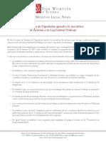 Iniciativa de Reforma - LFT