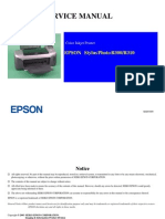 Epson R300 R310 Service Manual Complete