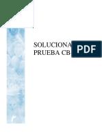 Solucionario Prueba BL 101