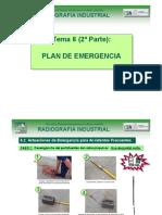 Curso de gammagrafía y radiografía industrial - TEMA 06 - Plan de emergencia PARTE II.pdf