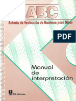 Manual de Interpretacion Kaufman