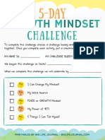 5 Day Growth Mindset Challenge for Kids Big Life Journal