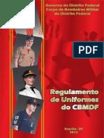 DF Regulamento Uniformes Cbmdf