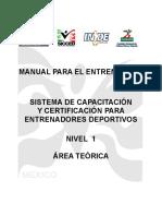 Manual Para El Entrenador_SICCED NIVEL 1