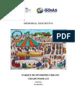 Modelo memorial Praça
