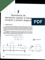 tensión diagonal