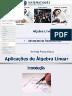Aplicações Da Álgebra Linear