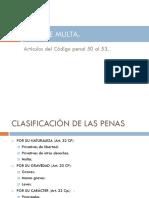Tema Xii clasificacion de las penas